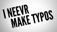 i never make typow