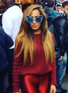 khaleda rajab linda farrow sunglasses